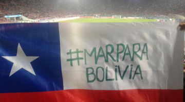 Bolivia recupera el mar 2015