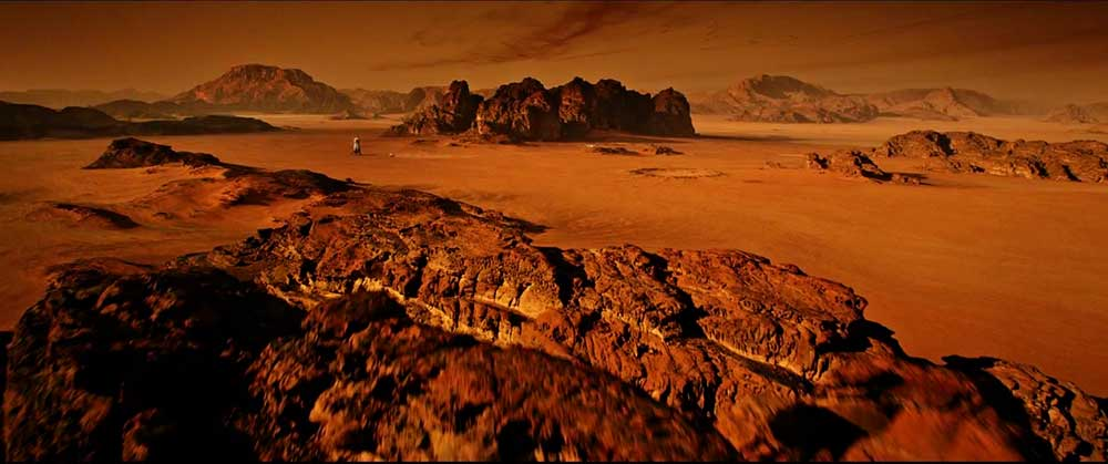 ¿Podría un astronauta solo sobrevivir en Marte?