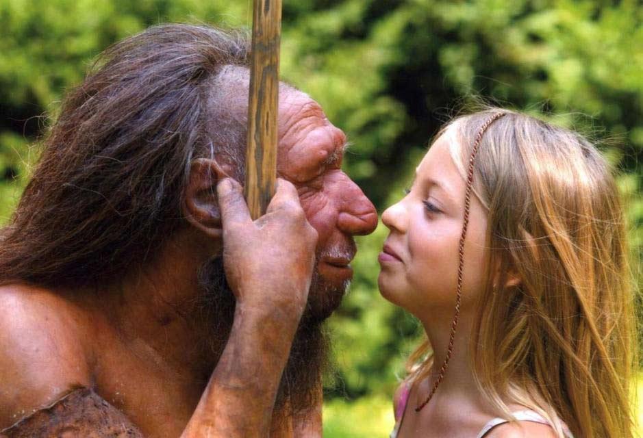 Neandertal y homo sapiens